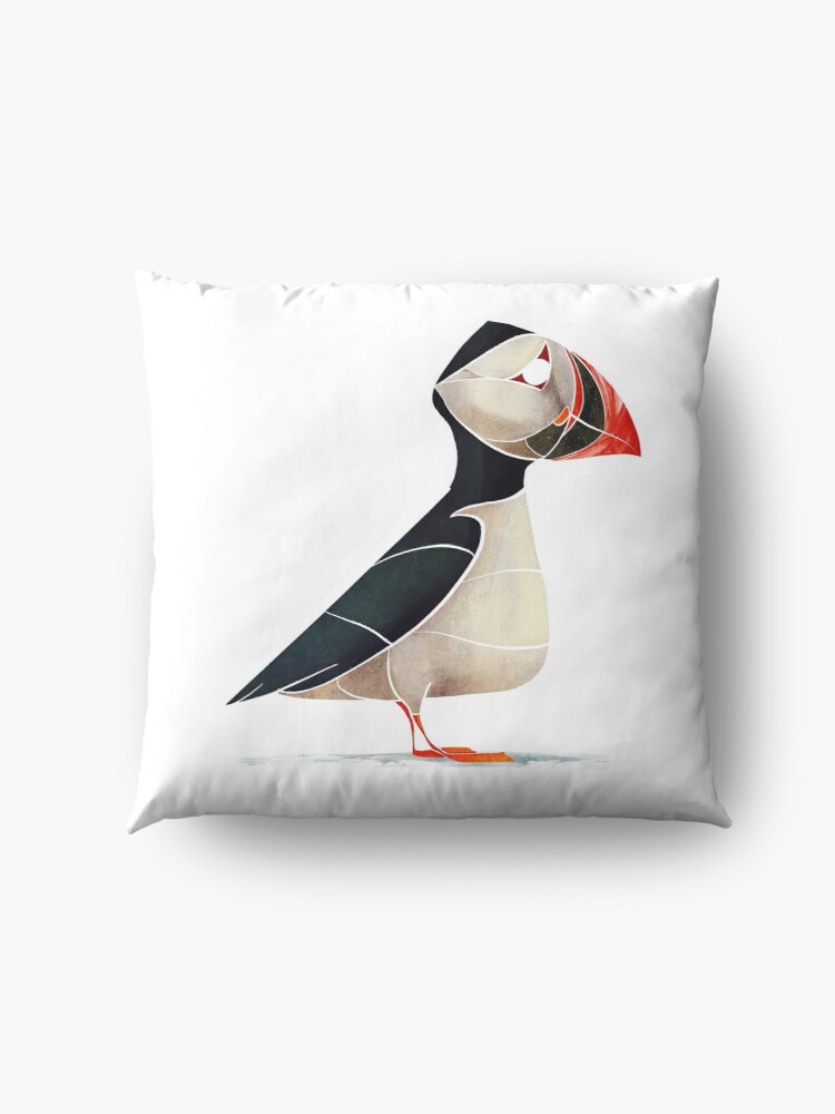 Alternate view of Puffin  Floor Pillow