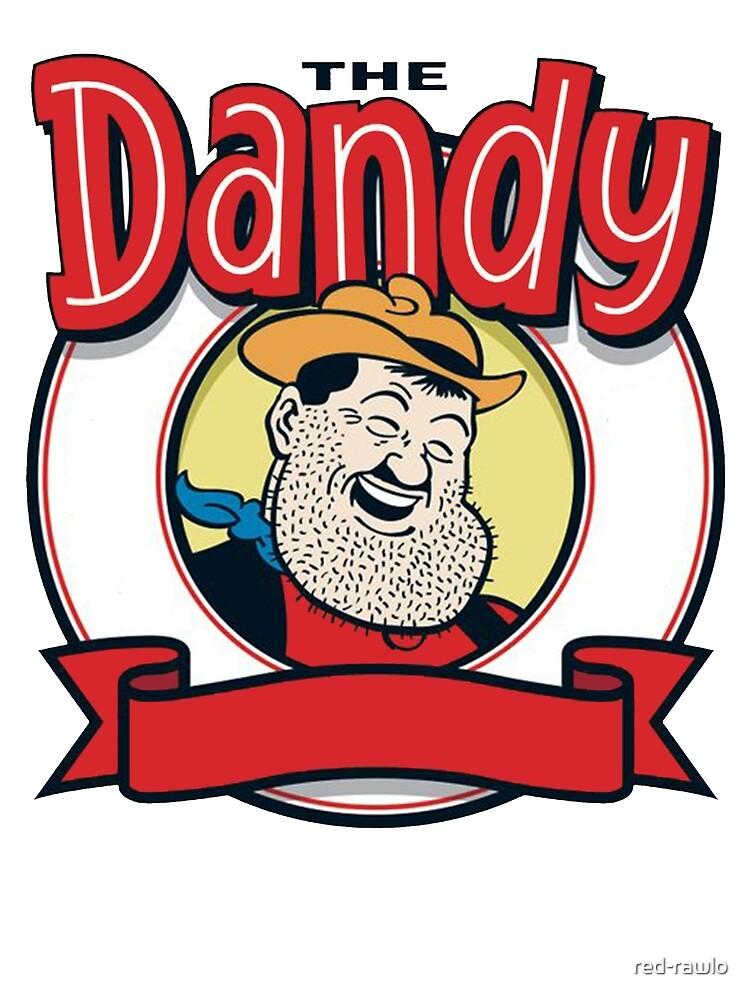 The Dandy - Desperate Dan by red-rawlo