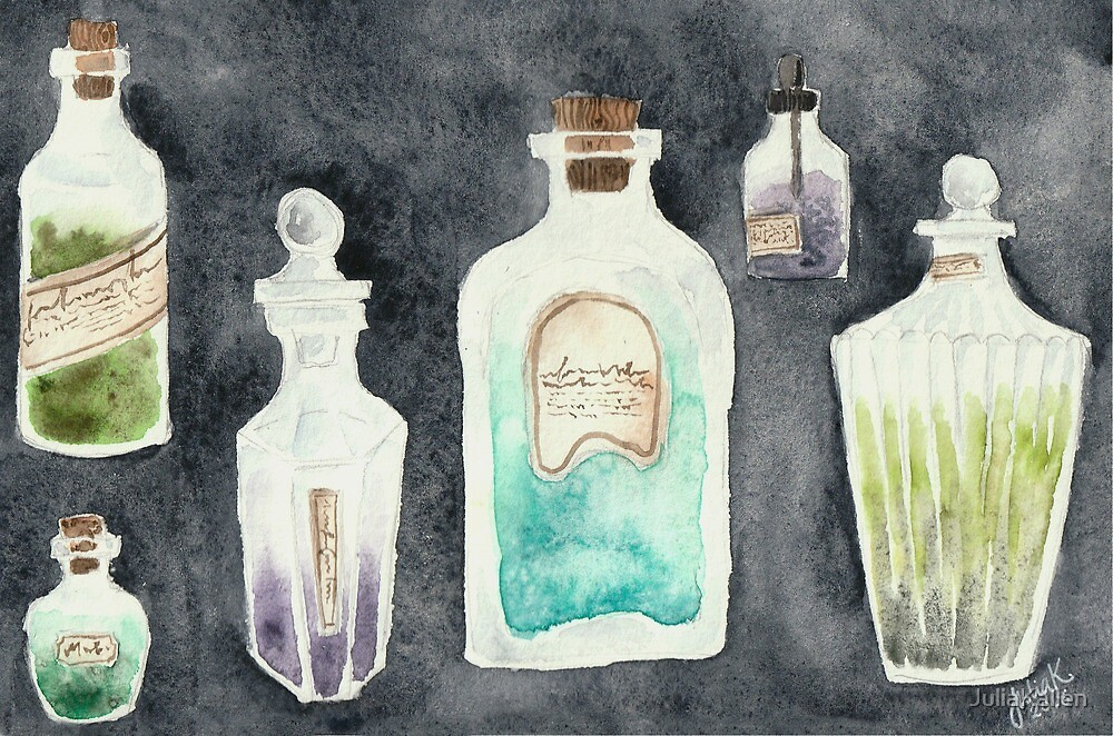 Pretty Potions by JuliaKallen