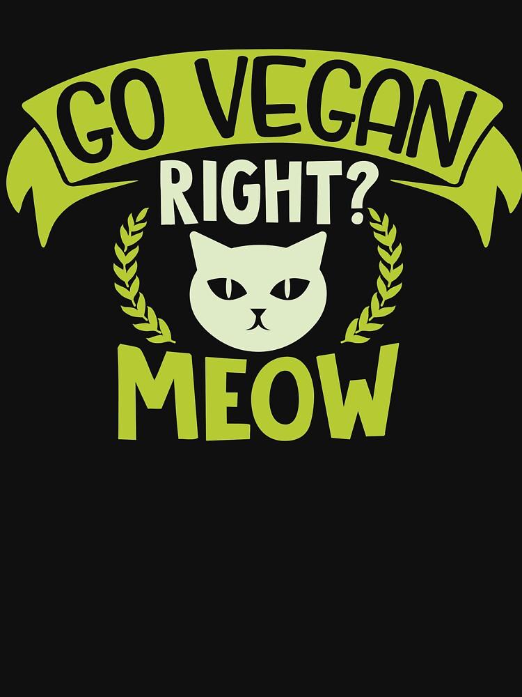 Vegan cat by Design123