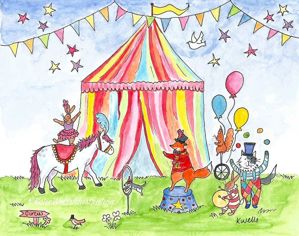 Circus by KW-illustration
