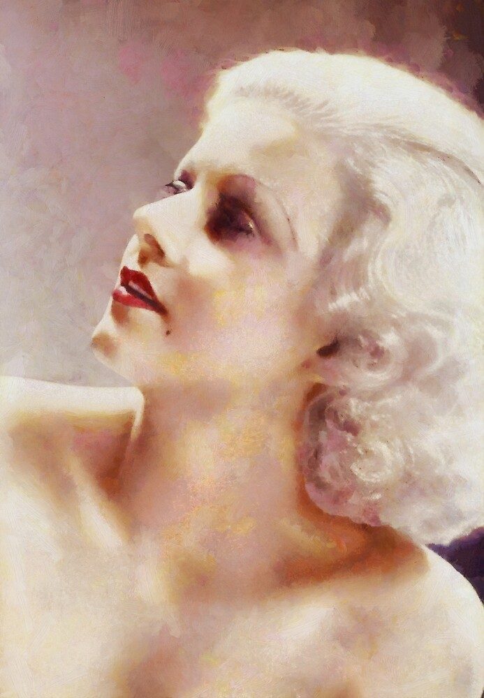 Jean Harlow, Vintage Hollywood Legend by SerpentFilms