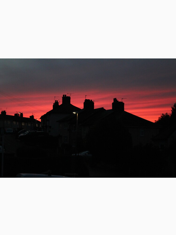 Intense Evening Glow by GPJChapman