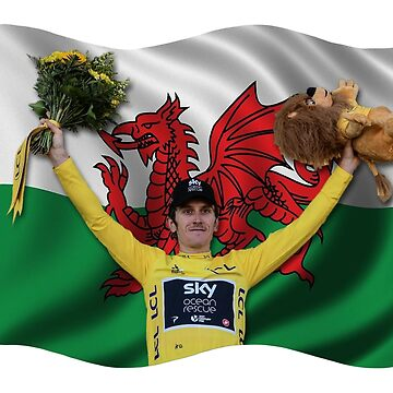 Geraint Thomas - Yellow Jersey by AKindChap