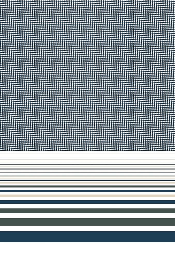 Houndstooth and Geometrical Stripes  by Eduardo Doreni