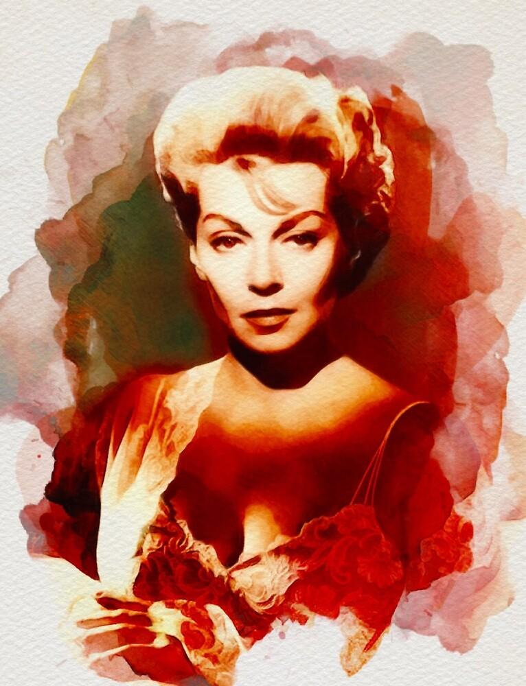 Lana Turner, Vintage Hollywood Legend by SerpentFilms