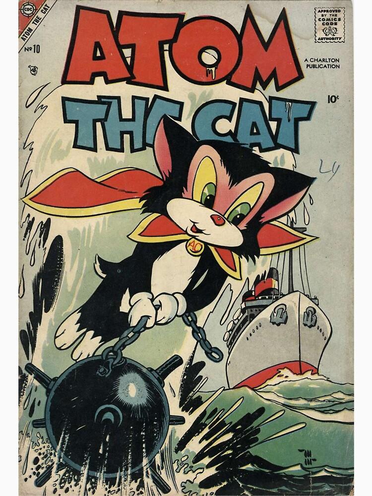 Atom the Cat Comic #10 by Stingrae