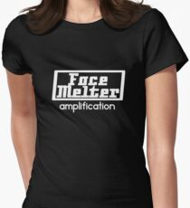 Face Melter Amplification Women's Fitted T-Shirt