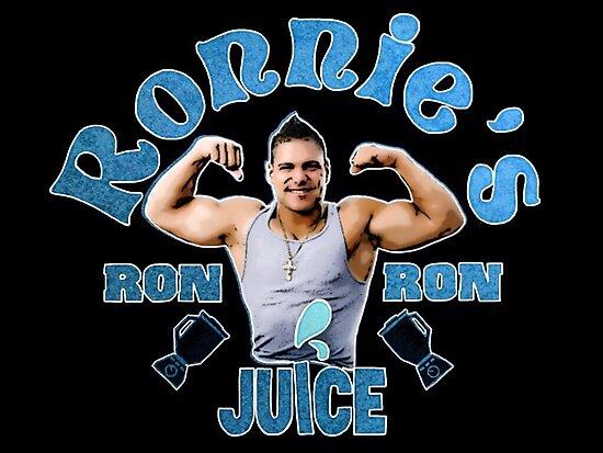 Ronnies Ron Ron Juice by Italianricanart
