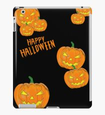 Happy Halloween Kübise, scary, scary iPad Case/Skin