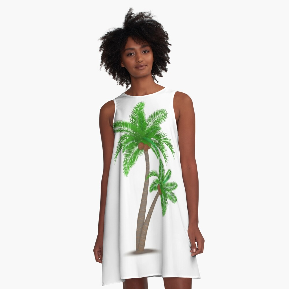 Trees for Kenya A-Line Dress Front
