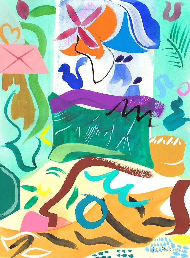 Abstract Interior #50 by Lisa V Robinson