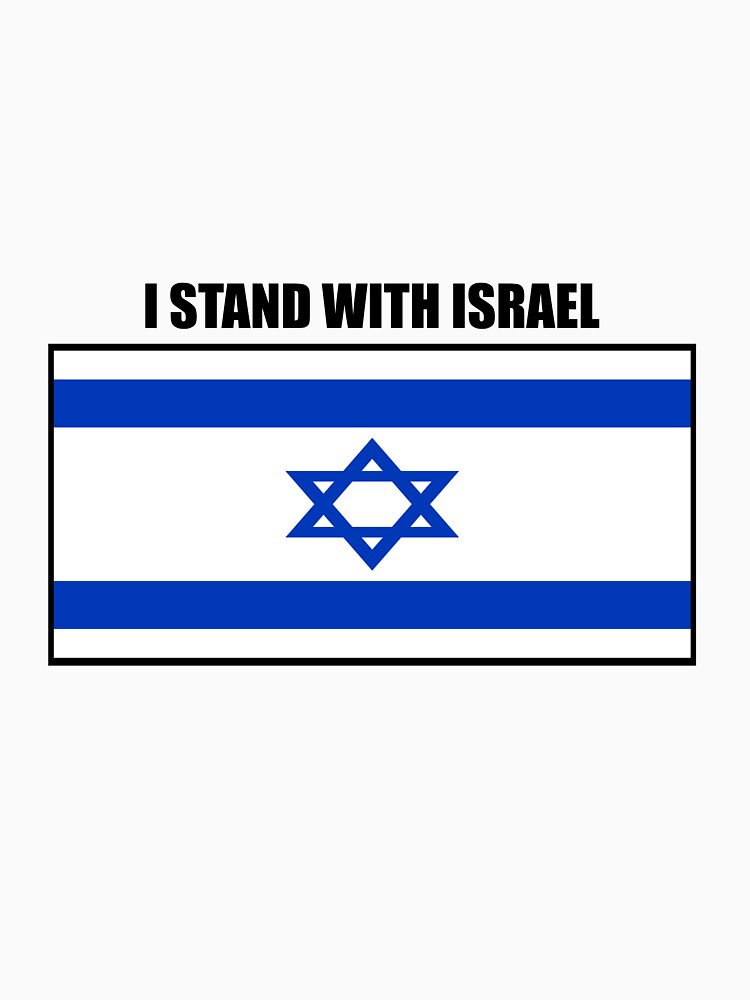 I STAND WITH ISRAEL by declanstratchi
