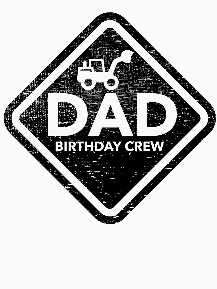 Construction site birthday crew party dad construction worker by KingCreative