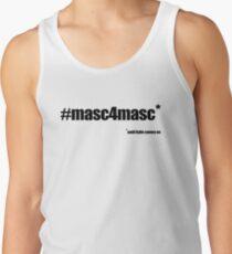 #masc4masc black text - Kylie Tank Top