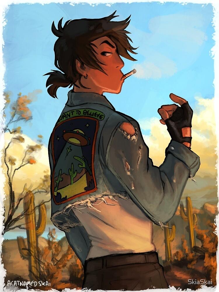 Dirty Desert Boy by SkiaSkai