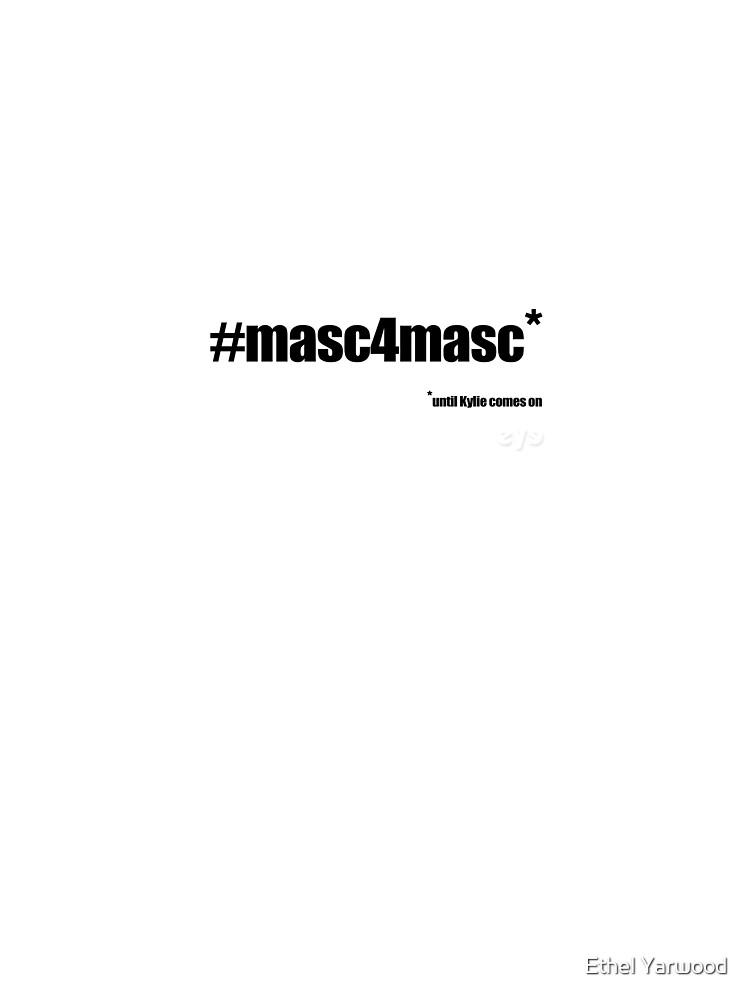 #masc4masc black text - Kylie by EthelYarwoodEnt