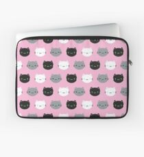 Cute Cats & Kawaii Kittens (Pink) Laptop Sleeve