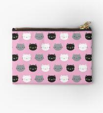 Cute Cats & Kawaii Kittens (Pink) Studio Pouch