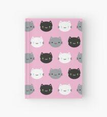 Cute Cats & Kawaii Kittens (Pink) Hardcover Journal