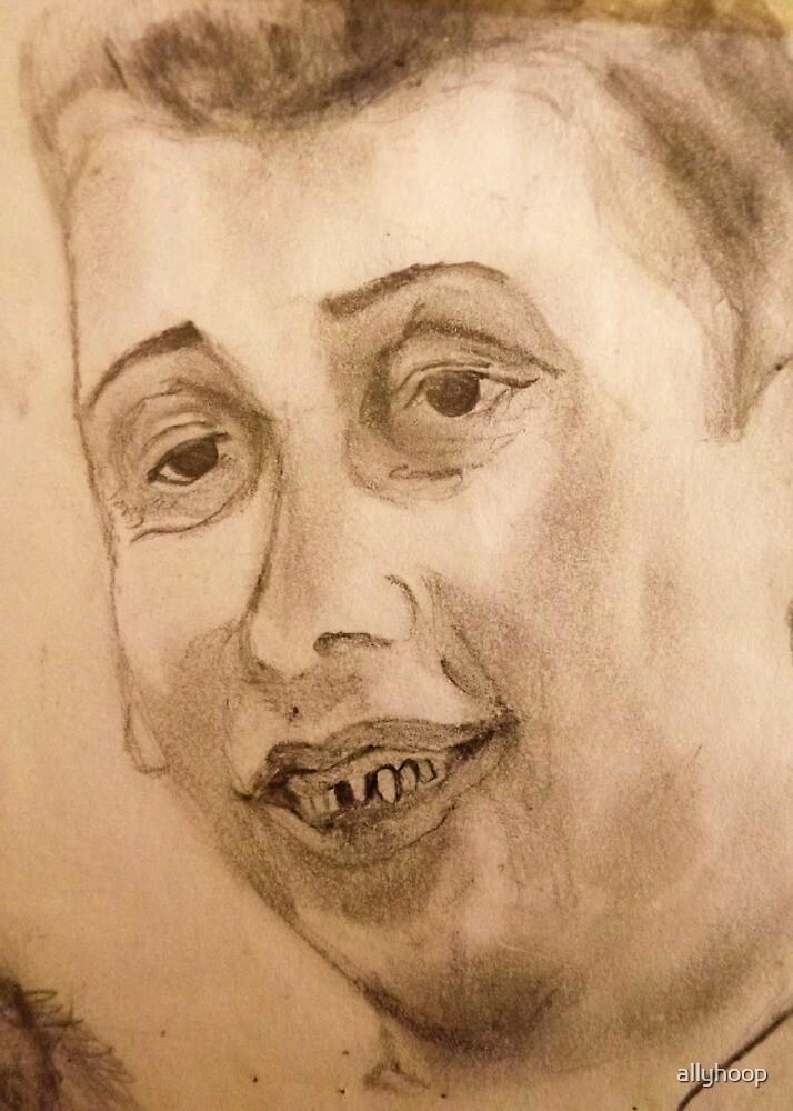 Shane Macgowan Portrait by allyhoop