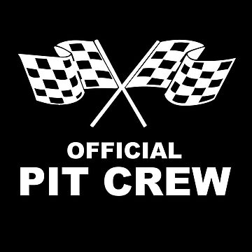 Official Pit Crew Racing by SpaceWarDesigns