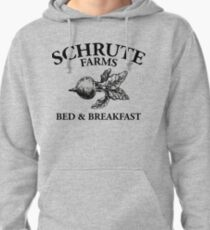 Schrute Farms - Bed and Breakfast - Logo - The Office Pullover Hoodie