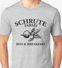 Schrute Farms - Chambres d'hôtes - Logo - The Office T-shirt unisexe