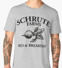 Schrute Farms - Bed and Breakfast - Logo - The Office Men's Premium T-Shirt