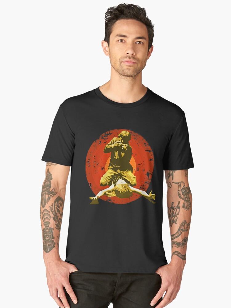 BLOW UP - Rusted version - Italian cult movie -  60's POP Men's Premium T-Shirt Front