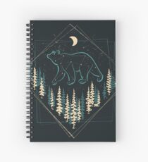 The Heaven's Wild Bear Spiral Notebook