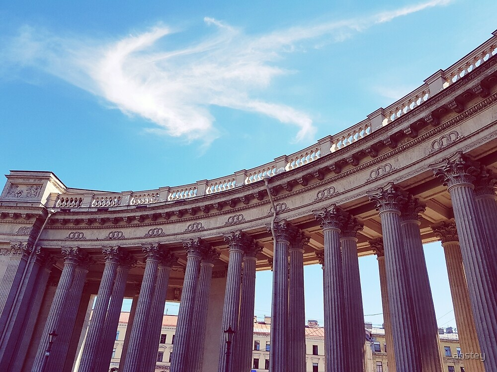 Kazan Cathedral Columns by anstey