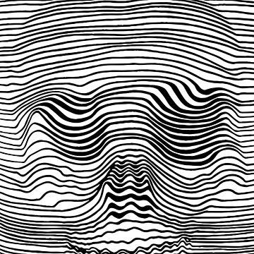 Line Skull by FayeLangoulant