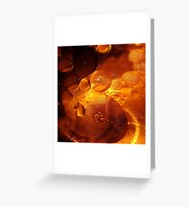 Oil buttons Greeting Card
