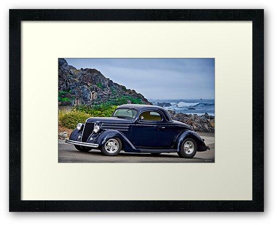 1936 Ford Three-Window Coupe IX by DaveKoontz