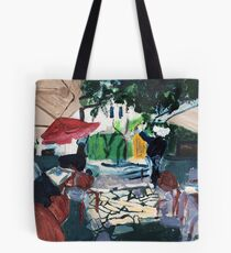 Looking Outward from the O Sinaleiro in Estoril, Portugal Tote Bag