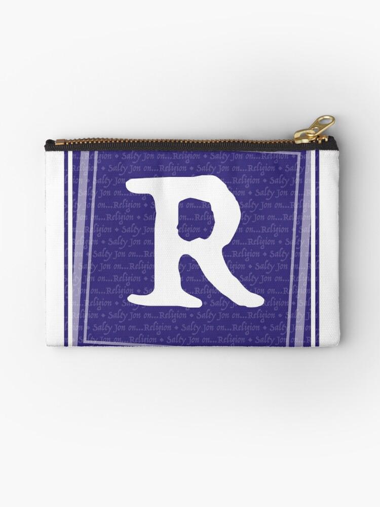 R- for Salty Jon on Religion by SaltyJon  Designs