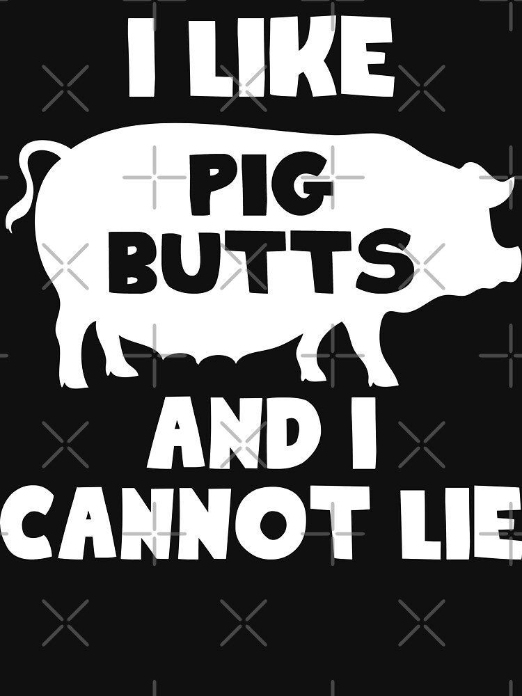 I Like Pig Butts And I Cannot Lie by noisebotllc