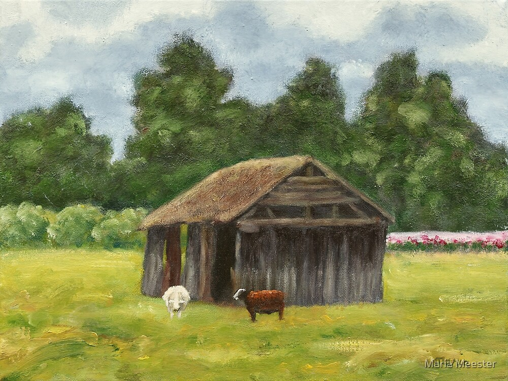 Little sheep shed by Maria Meester