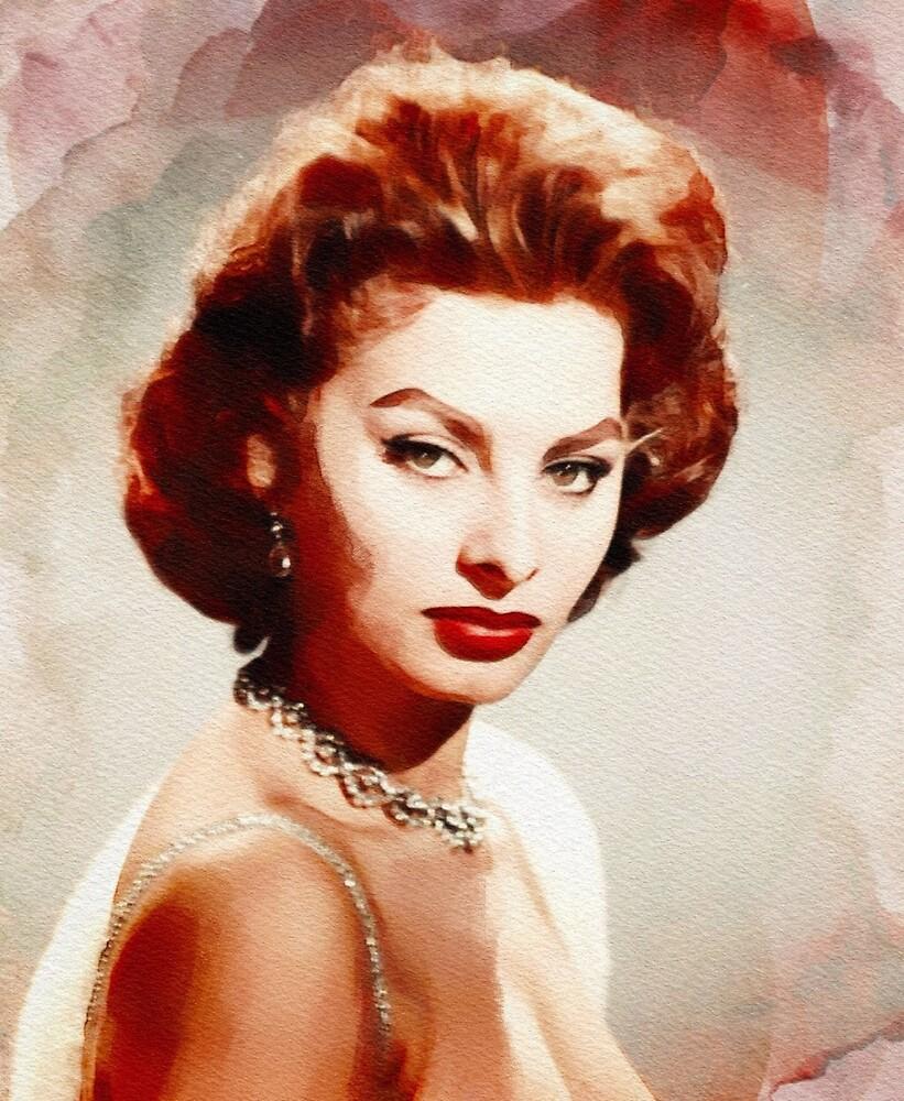 Sophia Loren, Vintage Hollywood Legend by SerpentFilms