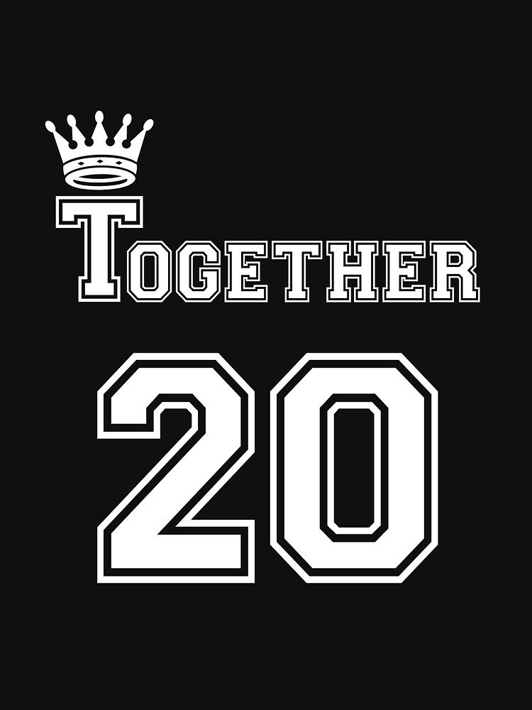Together 20 Together Funny Couple  by CreativeStrike