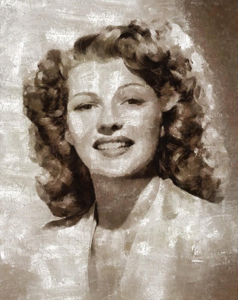 Rita Hayworth, Vintage Hollywood Legend by SerpentFilms