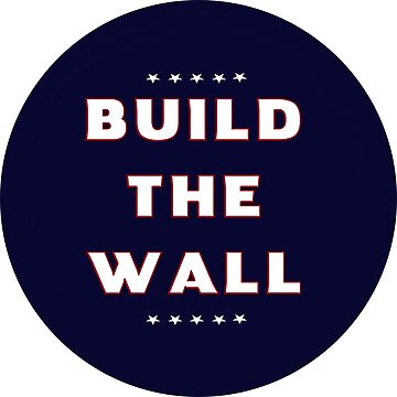 Build the WALL in Blue!!! by Quatrosales