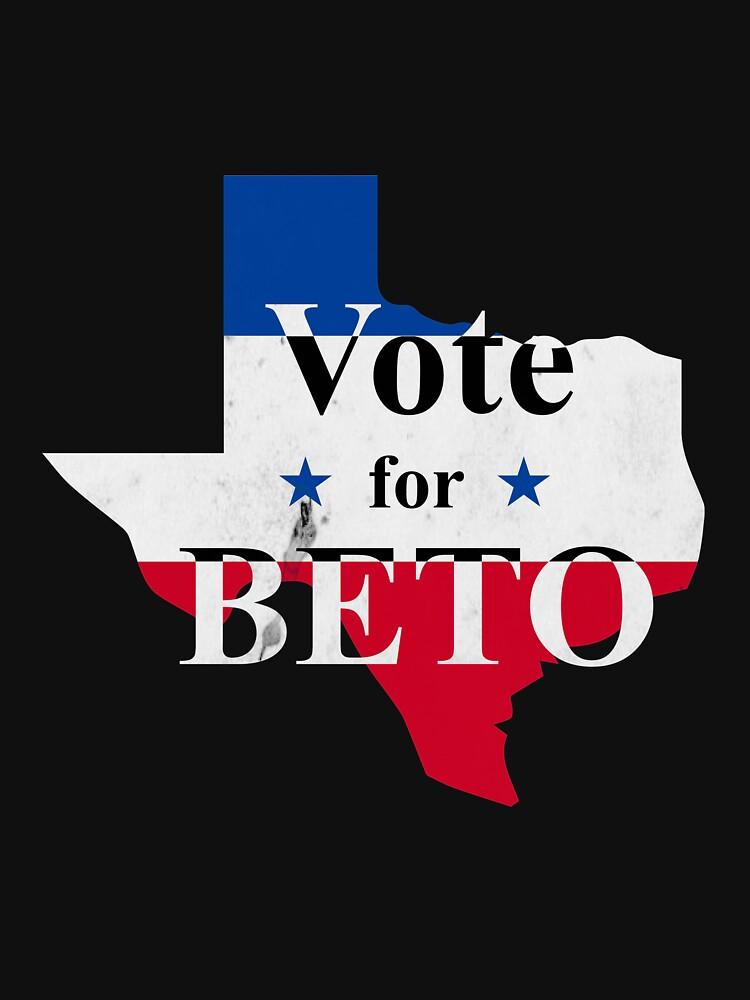 Vote For Beto Senate Political  by CreativeStrike