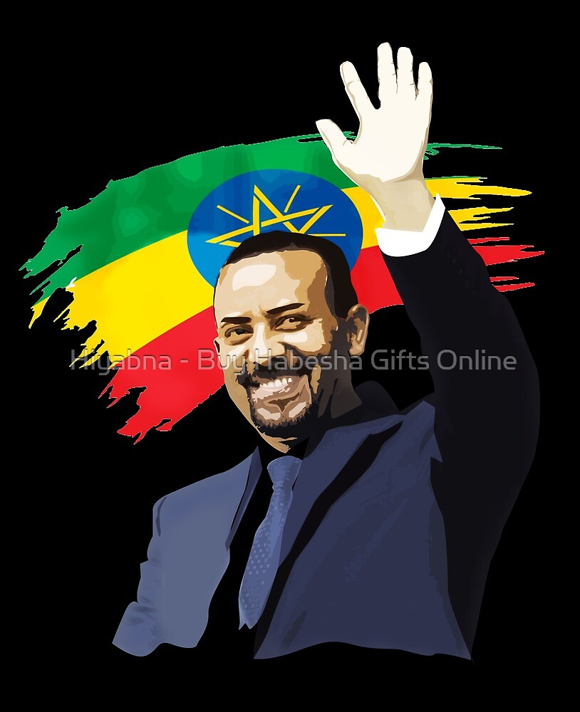 DR. Abey Ahmed Ethiopia by FT-Designs