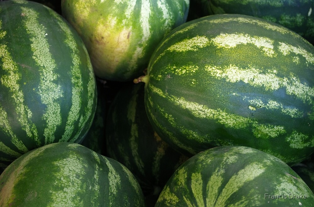 Watermelons by Francis Drake
