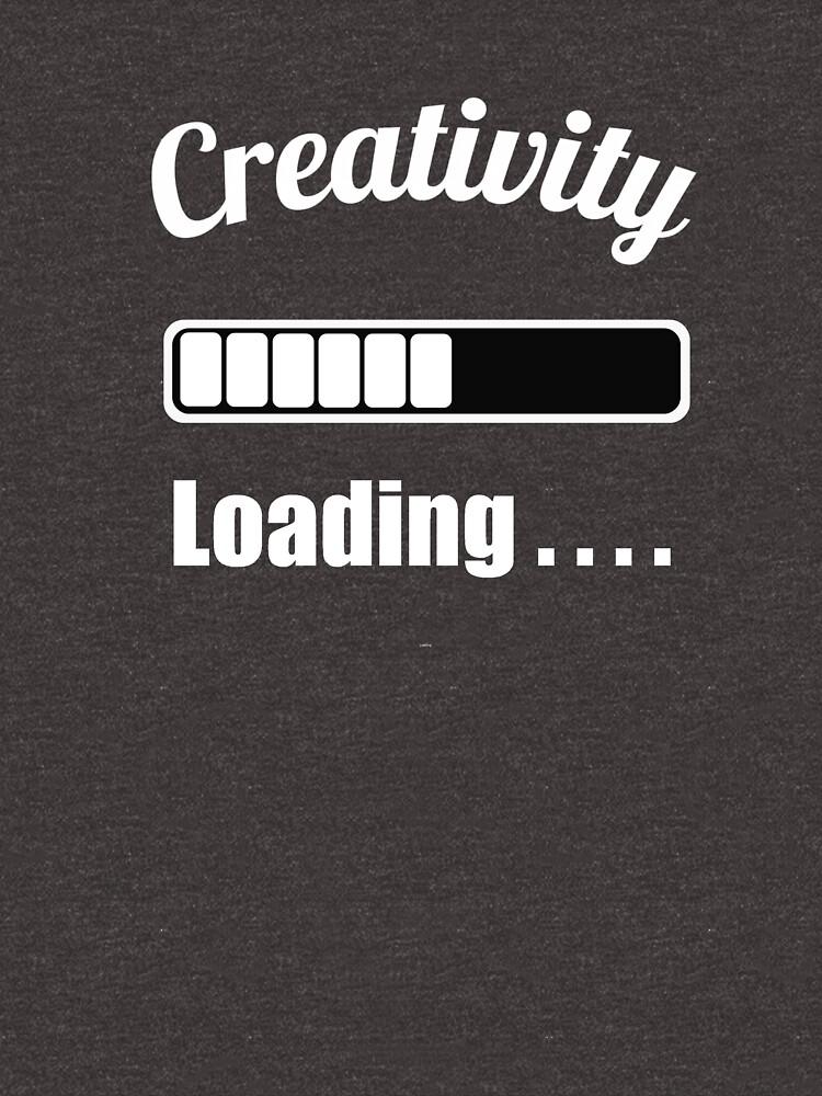 Creativity Loading by miniverdesigns