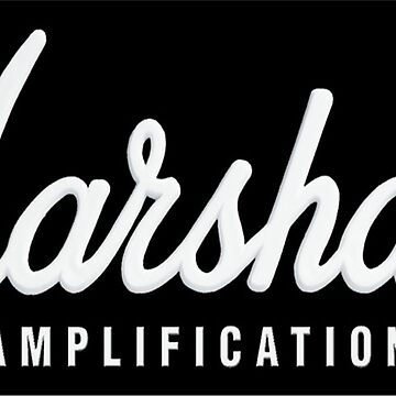 Marshall Amplification on black de basslinebenny