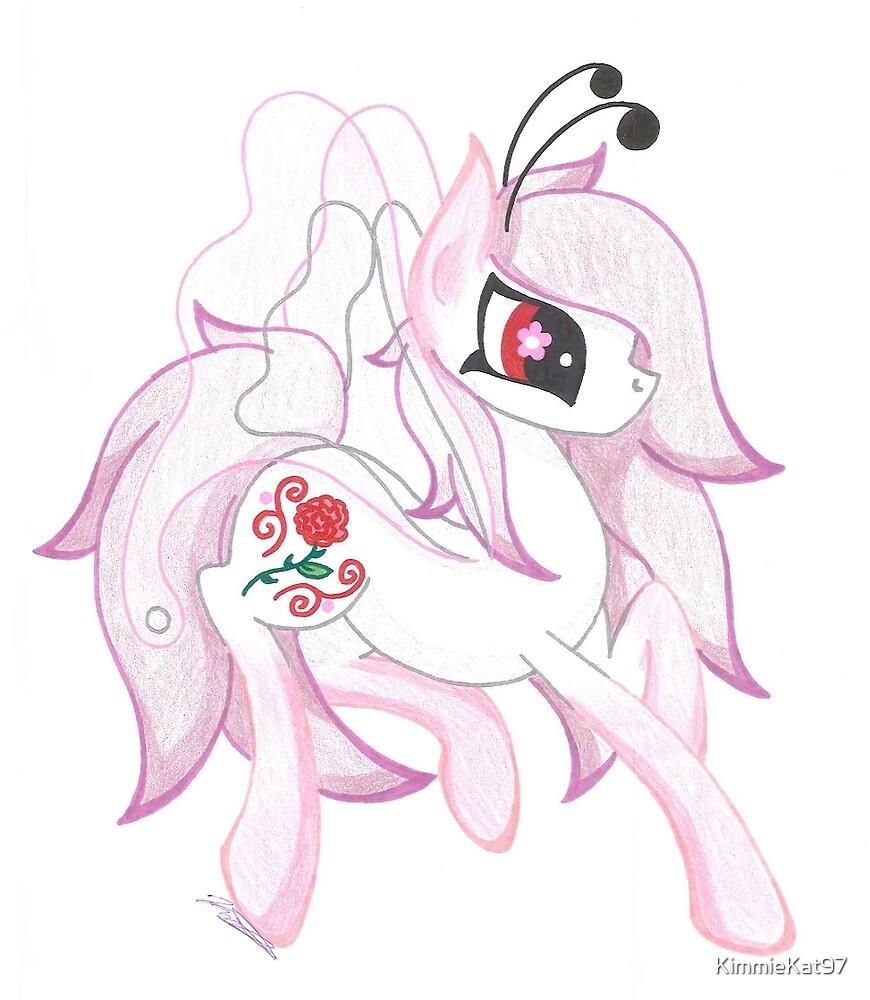 Pink Pixie Pony by KimmieKat97