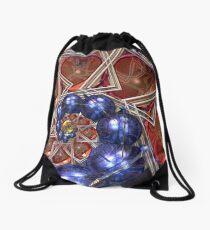 Sphere and Bowl Spiral Drawstring Bag